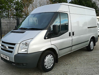 FORD TRANSIT 280 MWB TREND SILVER MK7 VAN 2.2TDCi 140PS EU5 FWD MED ROOF