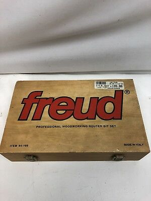 Freud 94-100 Professional Woodworking Router Bit Set Made in Italy