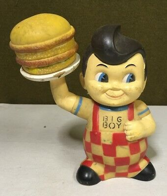 "VINTAGE Frisch's BIG BOY 9"" PLASTIC DOLL BANK"