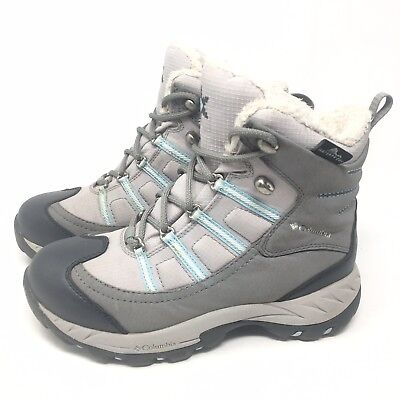 2776e81c8031 Columbia Whirlibird Womens Fur Waterproof Insulated Winter Snow Boots Size 6  M