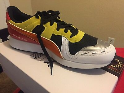 Mens PUMA x Roland Limited Edition TR 808 RS-100 Sneaker Yellow Orange Red cd1d0e591