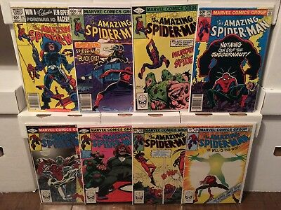 Amazing Spider-Man VF-/NM- #225 227 228 229 231 232 233 234 more acutions!