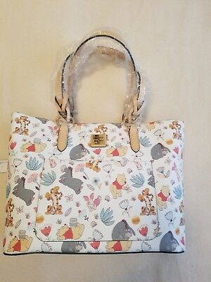 NWT Disney Dooney & Bourke Winnie Pooh and Friends Large Tammy Tote SOLD OUT