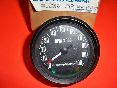 AERMACCHI HARLEY AMF NOS TACHOMETER  #92062-74P for  SX SS 175 SX SS SST 250 b