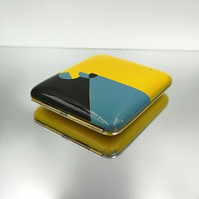 Great Auctions! Antique Enamel art deco cigarette case Zigarettenetui antico