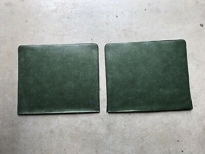 holden hk ht hg Green Panel Covers Interior Premier Kingswood Brougham seat back
