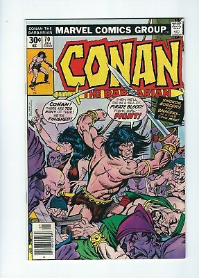 Conan the Barbarian #70 (1977, Marvel) Belit guest stars, Gil Kane cover