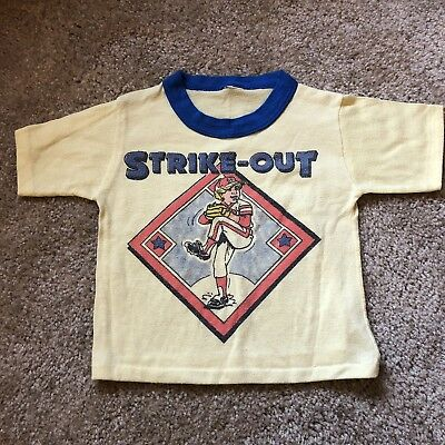 Vintage Childrens STRIKE OUT Shirt