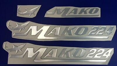 """MAKO 224 boat Emblem 22,3"""" + FREE FAST delivery DHL express - stickers decal"""