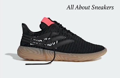 """Adidas SOBAKOV """"CORE BLACK / CORE BLACK / BLUE """" Trainers All Sizes Limited Stoc"""