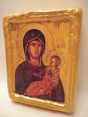 Virgin Mary Jesus Christianity Byzantine Greek Orthodox Christian Icon
