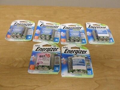6 Packs of Energizer Eco Advanced AA6 AA Batteries Brand NEW 36 Batteries NEW