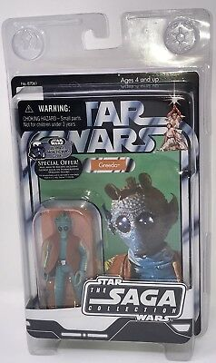 NEW Star Wars The Vintage Saga Collection Greedo 2006 Hasbro