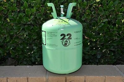 R22 refrigerant 26 pounds in 30 pound jug
