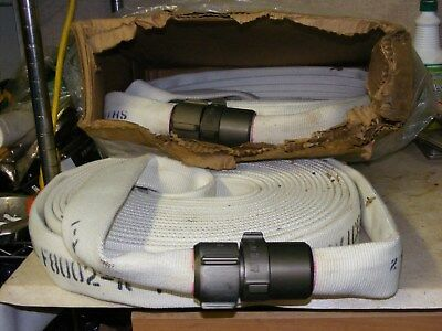 "FIRE HOSE GOODALL F8002, 1 1/2"" BY 100' FEET USA 250PSI NH Ftgs USA"