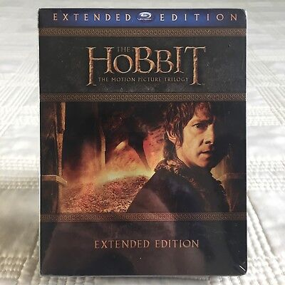The Hobbit Trilogy - Extended Edition - Blu-ray - 9-Disc Set