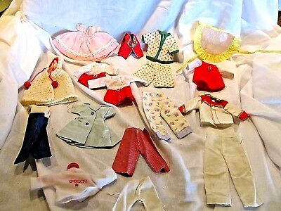 Vintage Lot Cosmopolitan & Vogue Doll Clothes Ginnette, Ginger, Jill, LAL Outfit