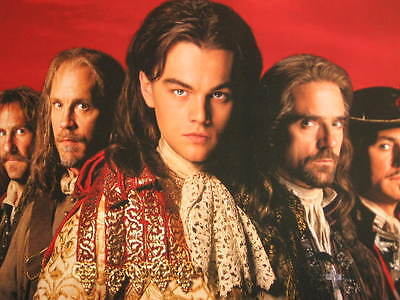 The Man In The Iron Mask Poster Leonardo Dicaprio Jeremy Irons Malkvoich Byrne
