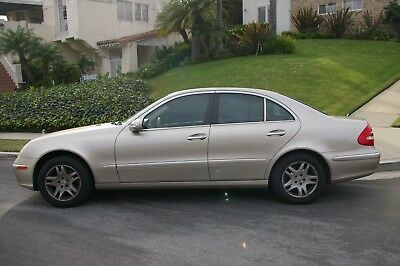 2003 Mercedes-Benz E-Class  2003 CA MERCEDES BENZ E320 SEDAN RUNS DRIVES REGISTERED AND SMOGGED
