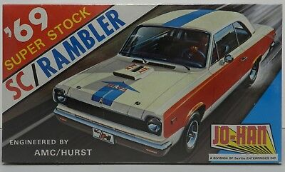 1969 69 Hurst Amc Sc Rambler Scrambler 390 Super Stock Jo-Han Mopar Model Kit