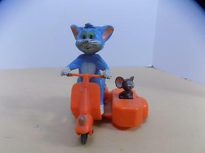 1971 Tom and Jerry Marx Friction Scooter Toy