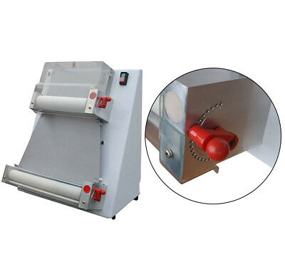 USA Stainless Steel Pizza Dough Roller Machine Pizza Making Dough Sheeter