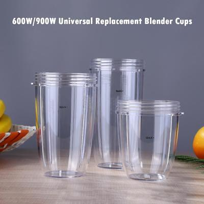 New 600W/900W Universal Replacement Parts for Nutribullet Blender Cups Mug Cup