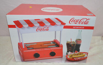 Hot Dog Roller Grill Coca-Cola Food Machine Cooker Dinner Cooking Nostalgia
