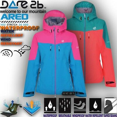 Chaqueta Mujer Surfies Impermeable Senderismo Camping Aire Libre Gimnasio Ligero