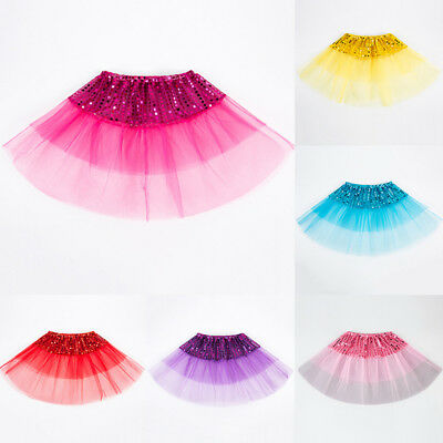 Todder Kid Girl Ballet TuTu Princess Dress up Dance Wear Costume Party Skirt AU