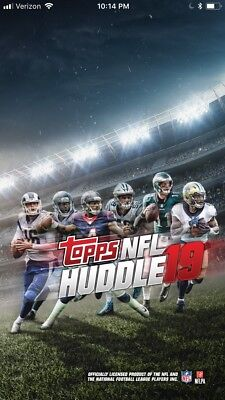 Topps Huddle LOT OF 9 *Digital* Cards YOUR PICK ANY OF MY 9 CARDS