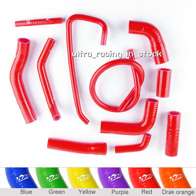 Zap Red For Yamaha Yzf 600 R6 2006-2018 Silicone Radiator Coolant Hoses