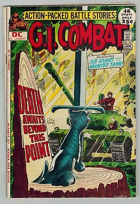 G.I. Combat 151 Kubert THE HAUNTED TANK * CAPT. STORM RUSS HEATH GIANT-SIZE