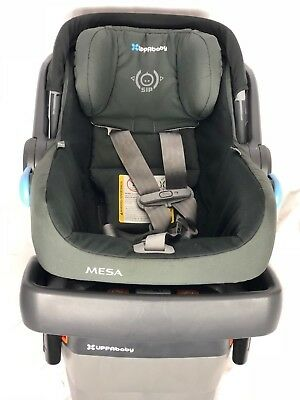 UPPAbaby MESA Infant Baby Car Seat With Base Jake Black FREE SHIPPING