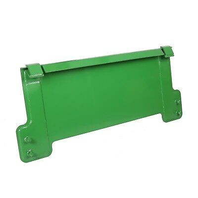 """Quick Tach 1/4"""" Thick Mount Plate fits John Deere Front Loader Tractor Loader"""