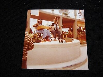 1984 worlds fair amateur photo of a musical performance by David and Roselyn