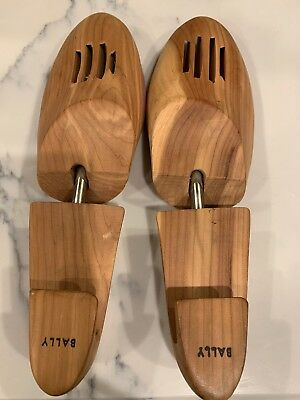 BALLY Men's Wooden Shoe Trees Stretchers Keepers Inserts L