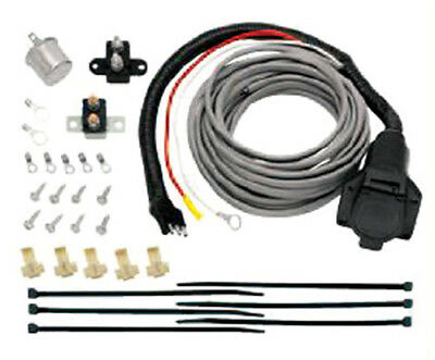 Tow Ready 118607 Pre-Wired Brake Mate Kit Adapter; 7-Way Flat Pin Connector;