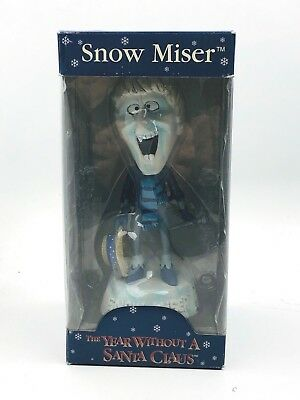 RARE Snow Miser Bobblehead Doll Figure by NECA ~ NEW IN BOX!  NEVER OWNED!