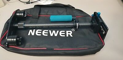 Neewer Carbon Fiber Handheld Stabilizer with Quick Release Plate