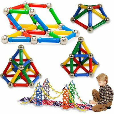 206pcs Magnetic Toys Building Blocks Set 3D Tiles DIY Toys Great Gifts For Kids