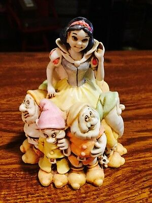 DISNEY Harmony Kingdom Snow White MIB COA Factory Mislabel Fairest of Them All!!
