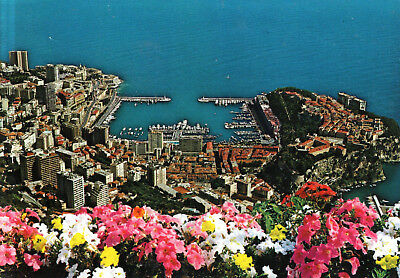 Monaco  -  Monte Carlo - General view with harbour