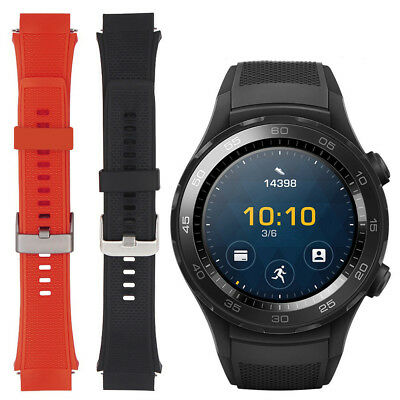 Replacement Sports Soft Silicone Bracelet Strap Band For Huawei Watch 2 Wrist