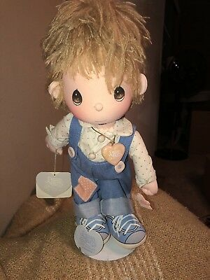 "Precious Moments Last Forever Applause doll ""Flippy"" 14 Inches with Stand 1985"