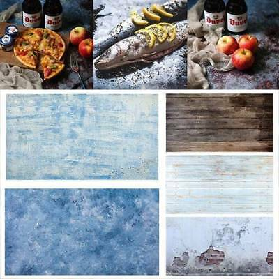 Dual Double Sided Backdrop Paper Food Grain Product Photography Drop Background
