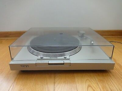 Sony PS-T1 Direct Drive Turntable 1977 Made in Japan Missing Stylus Needle