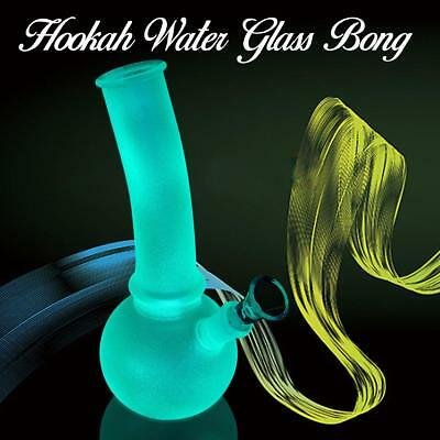 10''Glass Water Hookah Pipe Collectible Tobacco Smoking Bong Rig Best Pipes Hot
