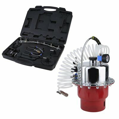 Car Brake Fluid Exchanger Auto Repair Tools Pneumatic Pressure Bleeder Set