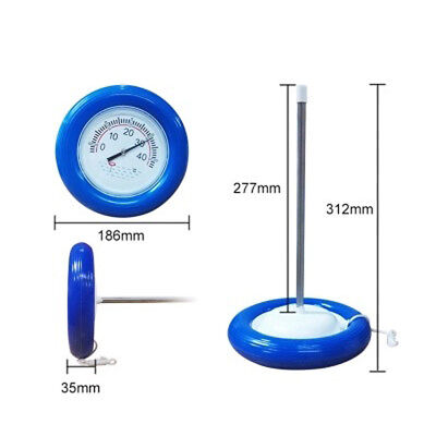Scale Thermometer Hot Tub Spa Floating Swimming Pool Water Water Temperature G1